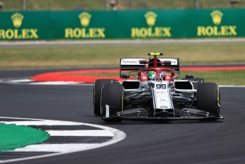 World © Octane Photographic Ltd. Formula 1 – British GP - Practice 2. Alfa Romeo Racing C38 – Antonio Giovinazzi. Silverstone Circuit, Towcester, Northamptonshire. Friday 12th July 2019.