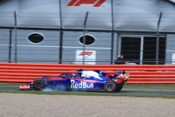 World © Octane Photographic Ltd. Formula 1 – British GP - Practice 2. Scuderia Toro Rosso STR14 – Alexander Albon. Silverstone Circuit, Towcester, Northamptonshire. Friday 12th July 2019.
