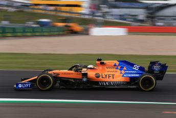 World © Octane Photographic Ltd. Formula 1 – British GP - Practice 2. McLaren MCL34 – Carlos Sainz. Silverstone Circuit, Towcester, Northamptonshire. Friday 12th July 2019.