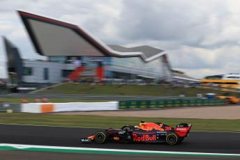 World © Octane Photographic Ltd. Formula 1 – British GP - Practice 2. Aston Martin Red Bull Racing RB15 – Max Verstappen. Silverstone Circuit, Towcester, Northamptonshire. Friday 12th July 2019.