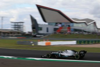 World © Octane Photographic Ltd. Formula 1 – British GP - Practice 2. Mercedes AMG Petronas Motorsport AMG F1 W10 EQ Power+ - Valtteri Bottas. Silverstone Circuit, Towcester, Northamptonshire. Friday 12th July 2019.