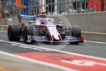 World © Octane Photographic Ltd. Formula 1 – British GP - Practice 3. SportPesa Racing Point RP19 – Lance Stroll. Silverstone Circuit, Towcester, Northamptonshire. Saturday 13th July 2019.