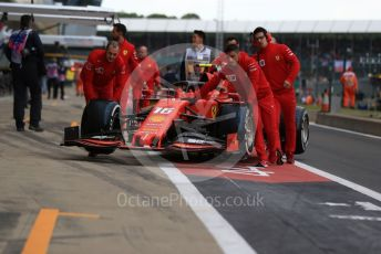World © Octane Photographic Ltd. Formula 1 – British GP - Practice 3. Scuderia Ferrari SF90 – Charles Leclerc. Silverstone Circuit, Towcester, Northamptonshire. Saturday 13th July 2019.