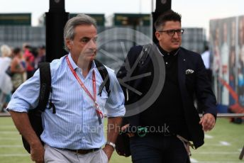 World © Octane Photographic Ltd. Formula 1 - British GP - Paddock. Carlos Sainz Senior. Silverstone Circuit, Towcester, Northamptonshire. Saturday 13th July 2019.