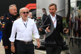 World © Octane Photographic Ltd. Formula 1 – British GP - Paddock. David Williams. Silverstone Circuit, Towcester, Northamptonshire. Saturday 13th July 2019.