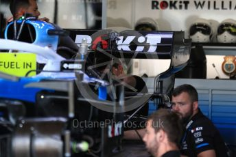 World © Octane Photographic Ltd. Formula 1 – British GP - Pit Lane. ROKiT Williams Racing FW 42. Silverstone Circuit, Towcester, Northamptonshire. Thursday 11th July 2019.