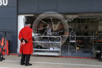 World © Octane Photographic Ltd. Formula 1 - British GP - Paddock. Chelsea Pensioner. Silverstone Circuit, Towcester, Northamptonshire. Thursday 11th July 2019.