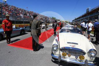 World © Octane Photographic Ltd. Formula 1 – Canadian GP. Drivers' parade. SportPesa Racing Point RP19 – Lance Stroll. Circuit de Gilles Villeneuve, Montreal, Canada. Sunday 9th June 2019.