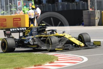 World © Octane Photographic Ltd. Formula 1 – Canadian GP. Practice 1. Renault Sport F1 Team RS19 – Nico Hulkenberg. Circuit de Gilles Villeneuve, Montreal, Canada. Friday 7th June 2019.