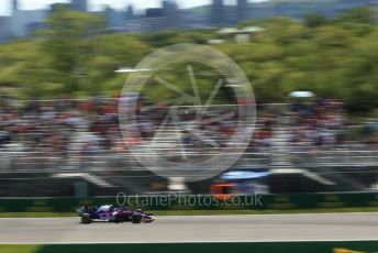 World © Octane Photographic Ltd. Formula 1 – Canadian GP. Practice 2. Scuderia Toro Rosso STR14 – Alexander Albon. Circuit de Gilles Villeneuve, Montreal, Canada. Friday 7th June 2019.