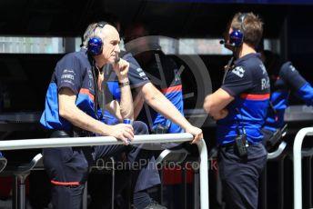 World © Octane Photographic Ltd. Formula 1 - Canadian GP. Practice 3. Franz Tost – Team Principal of Scuderia Toro Rosso. Circuit de Gilles Villeneuve, Montreal, Canada. Saturday 8th June 2019.