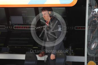 World © Octane Photographic Ltd. Formula 1 - Canadian GP. Practice 3. James Key – Technical Director McLaren. Circuit de Gilles Villeneuve, Montreal, Canada. Saturday 8th June 2019.