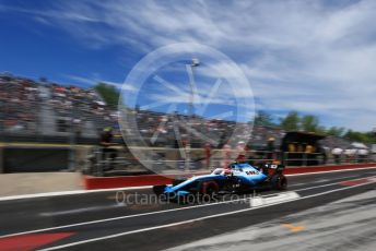World © Octane Photographic Ltd. Formula 1 – Canadian GP. Practice 3. ROKiT Williams Racing FW42 – Robert Kubica. Circuit de Gilles Villeneuve, Montreal, Canada. Saturday 8th June 2019.