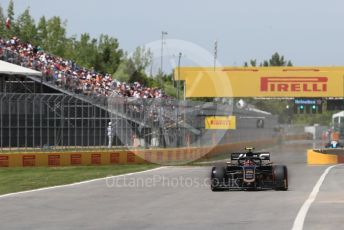 World © Octane Photographic Ltd. Formula 1 – Canadian GP. Qualifying. Rich Energy Haas F1 Team VF19 – Kevin Magnussen. Circuit de Gilles Villeneuve, Montreal, Canada. Saturday 8th June 2019.