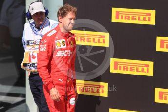 World © Octane Photographic Ltd. Formula 1 – Canadian GP. Parc Ferme. Scuderia Ferrari SF90 – Sebastian Vettel. Circuit de Gilles Villeneuve, Montreal, Canada. Sunday 9th June 2019.