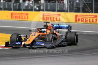 World © Octane Photographic Ltd. Formula 1 – Canadian GP. Race. McLaren MCL34 – Carlos Sainz. Circuit de Gilles Villeneuve, Montreal, Canada. Sunday 9th June 2019.