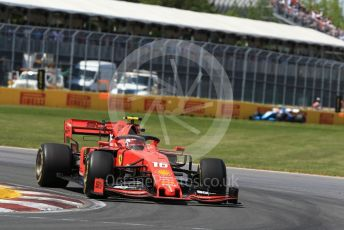 World © Octane Photographic Ltd. Formula 1 – Canadian GP. Race. Scuderia Ferrari SF90 – Charles Leclerc and ROKiT Williams Racing FW42 – Robert Kubica. Circuit de Gilles Villeneuve, Montreal, Canada. Sunday 9th June 2019.