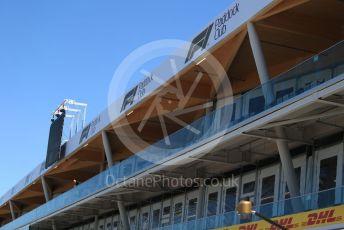 World © Octane Photographic Ltd. Formula 1 – Canadian GP. New Pit complex. McLaren MCL34. Circuit de Gilles Villeneuve, Montreal, Canada. Thursday 6th June 2019.