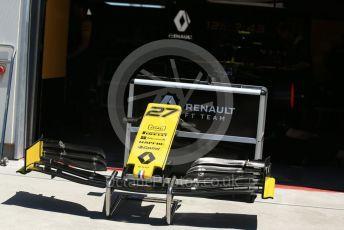 World © Octane Photographic Ltd. Formula 1 – Canadian GP. Pitlane. Renault Sport F1 Team RS19 – Nico Hulkenberg. Circuit de Gilles Villeneuve, Montreal, Canada. Thursday 6th June 2019.