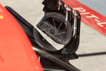 World © Octane Photographic Ltd. Formula 1 – Canadian GP. Scrutineering. Scuderia Ferrari SF90l. Circuit de Gilles Villeneuve, Montreal, Canada. Thursday 6th June 2019.