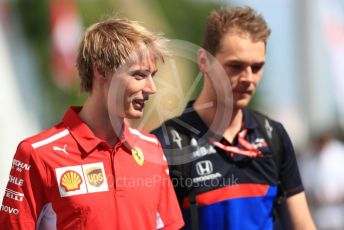 World © Octane Photographic Ltd. Formula 1 - Canadian GP. Paddock. Brendon Hartley – Scuderia Ferrari test and simulator driver. Circuit de Gilles Villeneuve, Montreal, Canada. Sunday 9th June 2019.