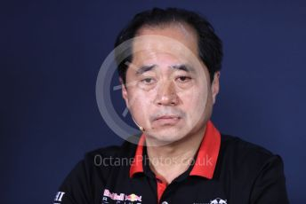 World © Octane Photographic Ltd. Formula 1 - Canadian GP – Friday FIA Team Press Conference. Toyoharu Tanube - Honda Performance Development (HPD) Senior Manager. Circuit de Gilles Villeneuve, Montreal, Canada. Friday 7th June 2019.