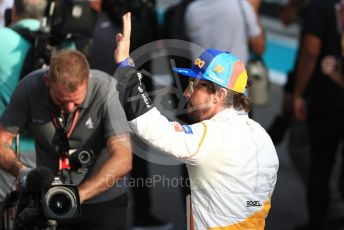 World © Octane Photographic Ltd. Formula 1 – Abu Dhabi GP - Class of 2018. McLaren MCL33 – Fernando Alonso. Yas Marina Circuit, Abu Dhabi. Sunday 25th November 2018.