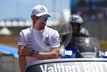 World © Octane Photographic Ltd. Formula 1 – French GP. Drivers Parade. Mercedes AMG Petronas Motorsport AMG F1 W10 EQ Power+ - Valtteri Bottas. Paul Ricard Circuit, La Castellet, France. Sunday 23rd June 2019.