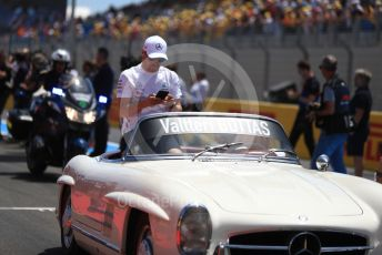World © Octane Photographic Ltd. Formula 1 – French GP. Drivers Parade. Mercedes AMG Petronas Motorsport AMG F1 W10 EQ Power+ - Valtteri Bottas. Paul Ricard Circuit, La Castellet, France. Sunday 23rd June 2019
