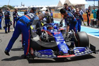World © Octane Photographic Ltd. Formula 1 – French GP. Grid. Scuderia Toro Rosso STR14 – Alexander Albon. Paul Ricard Circuit, La Castellet, France. Sunday 23rd June 2019.