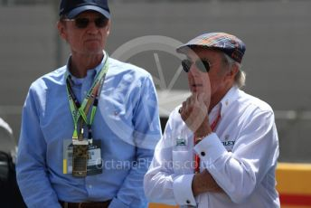 World © Octane Photographic Ltd. Formula 1 - French GP. Grid. Sir Jackie Stewart. Paul Ricard Circuit, La Castellet, France. Sunday 23rd June 2019.
