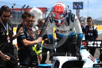 World © Octane Photographic Ltd. Formula 1 – French GP. Grid. ROKiT Williams Racing FW 42 – George Russell. Paul Ricard Circuit, La Castellet, France. Sunday 23rd June 2019.