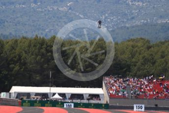 World © Octane Photographic Ltd. Formula 1 – French GP. Grid. Atmosphere - Hover man. Paul Ricard Circuit, La Castellet, France. Sunday 23rd June 2019.