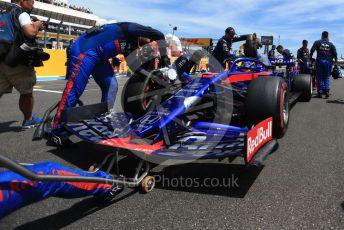 World © Octane Photographic Ltd. Formula 1 – French GP. Grid. Scuderia Toro Rosso STR14 – Alexander Albon. Paul Ricard Circuit, La Castellet, France. Sunday 23rd June 2019.