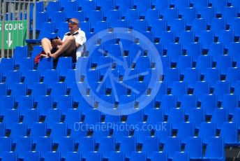 World © Octane Photographic Ltd. Formula 1 – French GP. Practice 1. Empty grandstands. Paul Ricard Circuit, La Castellet, France. Friday 21st June 2019.
