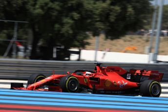 World © Octane Photographic Ltd. Formula 1 – French GP. Practice 2. Scuderia Ferrari SF90 – Sebastian Vettel. Paul Ricard Circuit, La Castellet, France. Friday 21st June 2019.