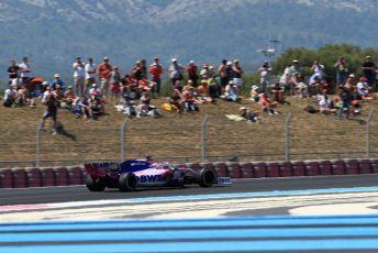 World © Octane Photographic Ltd. Formula 1 – French GP. Practice 2. SportPesa Racing Point RP19 - Sergio Perez. Paul Ricard Circuit, La Castellet, France. Friday 21st June 2019.