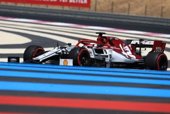 World © Octane Photographic Ltd. Formula 1 – French GP. Practice 2. Alfa Romeo Racing C38 – Kimi Raikkonen. Paul Ricard Circuit, La Castellet, France. Friday 21st June 2019.