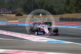 World © Octane Photographic Ltd. Formula 1 – French GP. Qualifying. SportPesa Racing Point RP19 - Sergio Perez. Paul Ricard Circuit, La Castellet, France. Saturday 22nd June 2019.