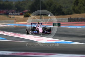 World © Octane Photographic Ltd. Formula 1 – French GP. Qualifying. SportPesa Racing Point RP19 – Lance Stroll. Paul Ricard Circuit, La Castellet, France. Saturday 22nd June 2019.