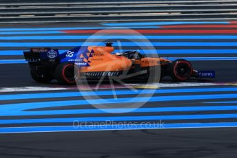 World © Octane Photographic Ltd. Formula 1 – French GP. Qualifying. McLaren MCL34 – Carlos Sainz. Paul Ricard Circuit, La Castellet, France. Saturday 22nd June 2019.