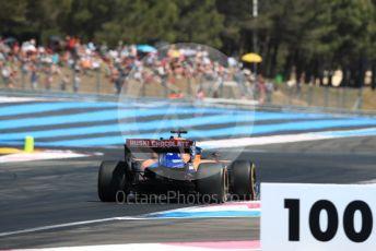 World © Octane Photographic Ltd. Formula 1 – French GP. Qualifying. McLaren MCL34 – Carlos Sainz. Paul Ricard Circuit, La Castellet, France. Saturday 22nd June 2019.