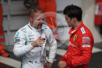 World © Octane Photographic Ltd. Formula 1 – French GP. Podium. Mercedes AMG Petronas Motorsport AMG F1 W10 EQ Power+ - Valtteri Bottas and Scuderia Ferrari SF90 – Charles Leclerc. Paul Ricard Circuit, La Castellet, France. Sunday 23rd June 2019.