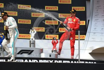 World © Octane Photographic Ltd. Formula 1 – French GP. Podium. Scuderia Ferrari SF90 – Charles Leclerc. Paul Ricard Circuit, La Castellet, France. Sunday 23rd June 2019.