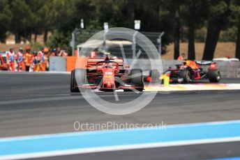 World © Octane Photographic Ltd. Formula 1 – French GP. Race. Scuderia Ferrari SF90 – Charles Leclerc. Paul Ricard Circuit, La Castellet, France. Sunday 23rd June 2019.