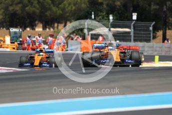 World © Octane Photographic Ltd. Formula 1 – French GP. Race. McLaren MCL34 – Carlos Sainz. Paul Ricard Circuit, La Castellet, France. Sunday 23rd June 2019.