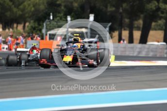 World © Octane Photographic Ltd. Formula 1 – French GP. Race. Aston Martin Red Bull Racing RB15 – Pierre Gasly. Paul Ricard Circuit, La Castellet, France. Sunday 23rd June 2019.