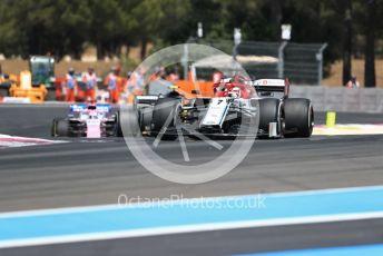 World © Octane Photographic Ltd. Formula 1 – French GP. Race. Alfa Romeo Racing C38 – Kimi Raikkonen. Paul Ricard Circuit, La Castellet, France. Sunday 23rd June 2019.