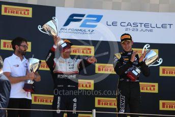 World © Octane Photographic Ltd. FIA Formula 2 (F2) – French GP - Race 2. BWT Arden - Anthoine Hubert, Sauber Junior Team - Juan Manuel Correa. Circuit Paul Ricard, La Castellet. Sunday 23rd 2019.