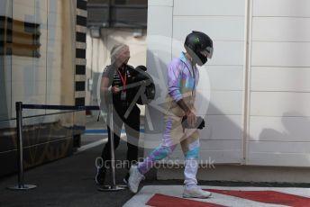 World © Octane Photographic Ltd. Formula 1 – French GP. Paddock. Mercedes AMG Petronas Motorsport AMG F1 W10 EQ Power+ - Lewis Hamilton. Paul Ricard Circuit, La Castellet, France. Friday 21st June 2019.